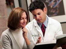 Patient with Dr. Cohen
